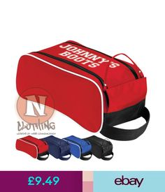 e7896dbb53b1 Boys  Accessories Personalised Hockey Boot Bag For Kids. Your Child s Name  Here. School