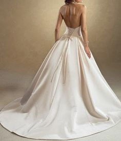 wedding dresses with color   new-wedding-dress-bridal-gown-ivory.jpg