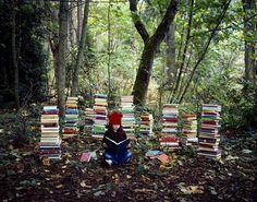 fun photo session idea for a bookworm @Rhonda Steed