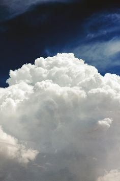 """""""I've looked at clouds from both sides now, From up and down, and still somehow…"""