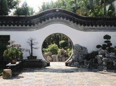 Kowloon Walled City Park:                   Bonsai garden