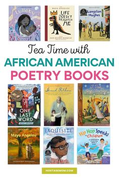 African American Poetry Books for Kids