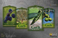 Olio Carli - Concorso etichette del centenario