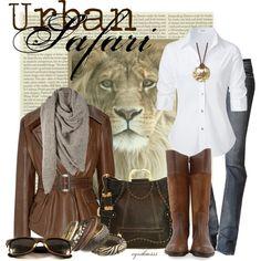 """Urban Safari"" by cynthia335 on Polyvore"
