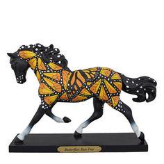 Trail Of Painted Ponies - Butterflies Run Free Horse Figurine -1st Edition NIB