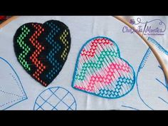 Hand Embroidery Videos, Tea Towels, Pot Holders, Diana, Youtube, World, Brazilian Embroidery, Embroidered Flowers, Embroidery Stitches