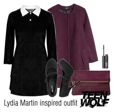 Lydia Martin inspired outfit/TW by tvdsarahmichele on Polyvore featuring мода, H&M, Wet Seal, Clare V. and NARS Cosmetics
