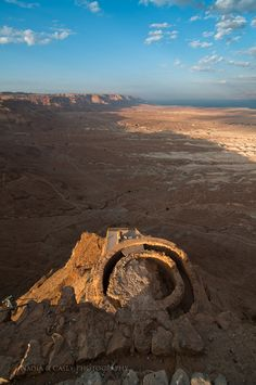 Masada - Ancient fortification in Southern District of Israel