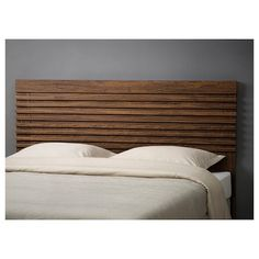 IKEA offers everything from living room furniture to mattresses and bedroom furniture so that you can design your life at home. Check out our furniture and home furnishings! Ikea Headboard, Brown Headboard, Modern Headboard, Headboard Designs, Ikea Bedroom, Headboard Ideas, Diy King Headboard, Cheap Diy Headboard, Headboard With Shelves