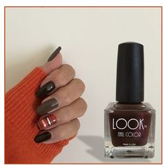 Fun stripe nails for the holidays!