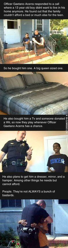 Good cop.