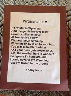 Wyoming Poem