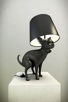 -puppy-lamp-  le détail de l'interrupteur