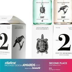 The Dieline Package Design Awards 2013: Home, Garden, & Pet, 2nd Place - Day Birger er Mikkelsen, Scented Line  - The Dieline -