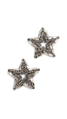 Deepa Gurnani Deepa by Deepa Gurnani Star Earrings Star Earrings, Statement Earrings, Deepa Gurnani, India Fashion, Fashion Earrings, Luxury Branding, Jewelry Box, Women Accessories, Brooch