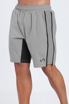 The TLF™ ATHOS SHORTS are engineered for performance, comfort, and unequaled style using our trademark TLF TASLON PERFORMANCE™ fabric. This design features contrasting colored laser cut hole panels down each leg and color blocking panels on inner seams. Sport Shorts, Men Shorts, Tennis Shorts, Figure Competition Diet, Squat Motivation, Flat Sketches, Mens Fitness, Gym Fitness, Sport Wear