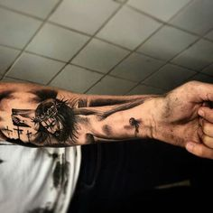 Cross Tattoo On Wrist For Guys Jesus Hand Tattoo, Jesus Tattoo Sleeve, Cross Tattoo On Hand, Small Cross Tattoos, Cross Tattoo For Men, Forearm Sleeve Tattoos, Cross Tattoo Designs, Celtic Cross Tattoos, Best Sleeve Tattoos