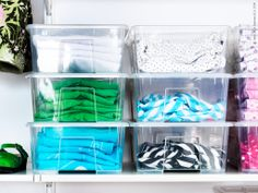 IKEA offers everything from living room furniture to mattresses and bedroom furniture so that you can design your life at home. Ikea Algot, Ikea Samla, Ikea Storage Boxes, Ikea Boxes, Ikea Inspiration, Transparent Box, Ikea Hackers, Fabric Storage, Diy Organization