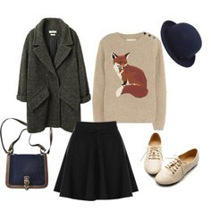 """Fantastic Mr. Fox"" by themoptop on Polyvore"