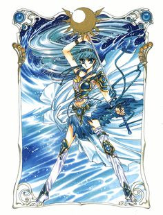 Umi Ryuuzak - Magic Knight Rayearth - I wouldn't mind doing some of her other outfits as well