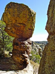 Echo Canyon Trail, Chiricahua National Monument, Arizona; photo by Ruth Hager