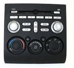 Mitsubishi Galant 2005-2006 Radio Control Panel w Climate Controls PN 8002A247HA