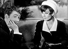 Peter O'Toole and Audrey-a wonderful romantic couple