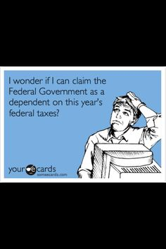 All taxes should be tax deductible! Taxes Humor, Accounting Humor, Money Humor, Tax Refund, Tax Deductions, Funny Quotes, Funny Memes, Hilarious, Stupid Funny
