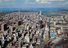 Johannesburg City, San Francisco Skyline, South Africa, New York Skyline, Travel, Viajes, Destinations, Traveling, Trips