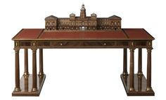 In celebration of Her Majesty The Queen's Diamond Jubilee, LINLEY has put expertise in cabinet-making to the test with the creation of the Horse Guards' Parade Desk which will be made in a Limited Edition series of 3, each one with unique attributes.  www.davidlinley.com