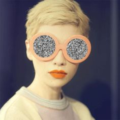 see life thru glittering glasses -  always!
