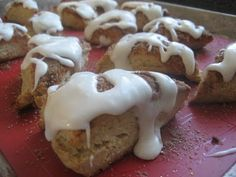 Pie Birds, Buttons and Muddy Puddles: Starbucks Cinnamon Scones