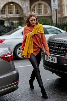 The Latest Street Style From London Fashion Week | Who What Wear