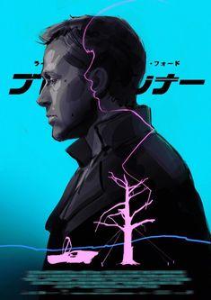"""BROTHERTEDD.COM on Twitter: """"… """" Blade Runner Poster, Blade Runner Art, Blade Runner 2049, Blade Runner Wallpaper, Kuvshinov Ilya, Indiana Jones Films, Denis Villeneuve, Vaporwave Wallpaper, Cyberpunk Girl"""