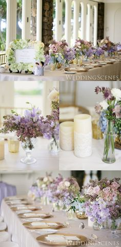 chic wood wedding table number ideas for 2019 trends Wedding Guest Table, Wedding Table Flowers, Wedding Table Settings, Wedding Centerpieces, Wedding Decorations, Purple Wedding, Spring Wedding, Floral Wedding, Wedding Colors