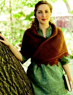 Ravelry: A Sensible Shawl by Celeste Young