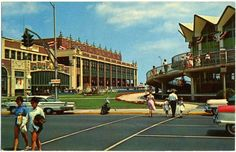 1960s ASBURY PARK New Jersey Postcard Howard Johnson Boardwalk by Christian Montone, via Flickr