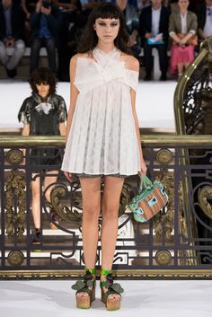 John Galliano Spring 2015 Ready-to-Wear - Collection - Gallery - Look 1 - Style.com