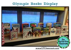 Create a book display so students can better understand the various counties that are participating in the Olympics!