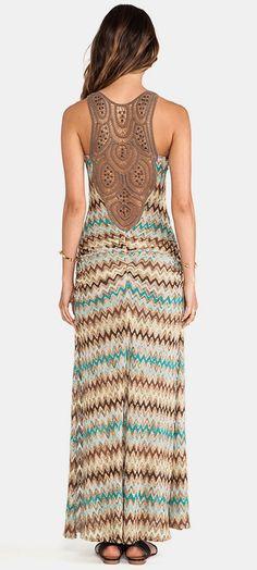 sky Ksana Dress in Aqua