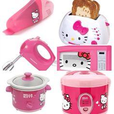 Hello Kitty kitchen accessories..
