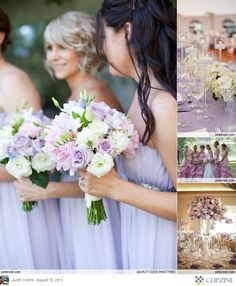 ♡ Lavender #wedding #Bouquets ... For wedding ideas, plus how to organise an entire wedding, within any budget ... https://itunes.apple.com/us/app/the-gold-wedding-planner/id498112599?ls=1=8 ♥ THE GOLD WEDDING PLANNER iPhone App ♥  For more wedding inspiration http://pinterest.com/groomsandbrides/boards/ photo pinned with love & light, to help you plan your wedding easily ♡