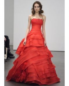 Ball Gown by the lovely Vera - only not in red