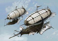 Spaceland | Duelden ship & Tempano Port -  Duwon Lee