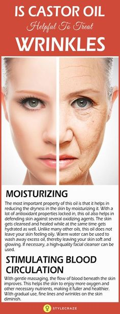 Whenever you see yourself in the mirror, is it only the wrinkles that come to your attention? And does that sadden and upset you? Well, there is one thing to be realized. Wrinkles come with age and aging is a natural process. However, wrinkles can be cured or their onset can be delayed. Interesting, isn't it? This is where castor oil comes into the picture. Its marvellous properties can even help you get relief from the visual pain of wrinkles! Go ahead, give a read, and say goodbye to…