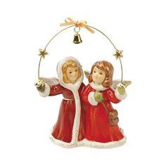Goebel Weihnachtsengelmarkt Es Weihnachtet h: 11 cm