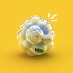 Ilustrações em 3D de Grand Chamaco