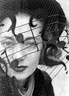 Music note veil. photo by Alfred Eisenstaedt, 1937