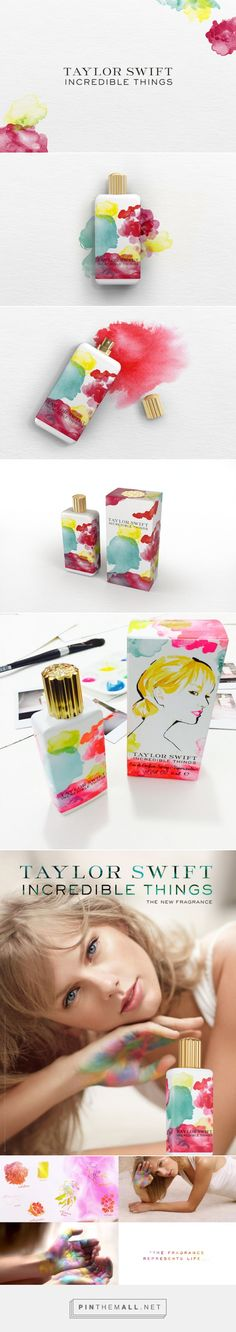Taylor Swift Incredible Things ‪#‎fragrance‬ ‪#‎packaging‬ - http://www.packagingoftheworld.com/2015/03/taylor-swift-incredible-things.html