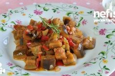 Ratatu - Nefis Yemek Tarifleri Kung Pao Chicken, Bruschetta, Eggplant, Toast, Pork, Cooking, Breakfast, Ethnic Recipes, Kitchen